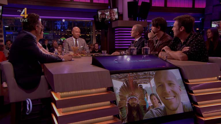 Wiggert Meerman te gast bij RTL Late Night